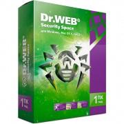Dr.Web Security Space Комплексная защита (лицензия на 1 год на 1 ПК, электронная версия) [LHW-BK-12M-1-A3]
