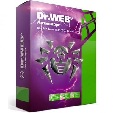 Dr.Web Антивирус (продление лицензии на 1 год на 1 ПК, электронная версия) [LHW-AK-12M-1-B3]