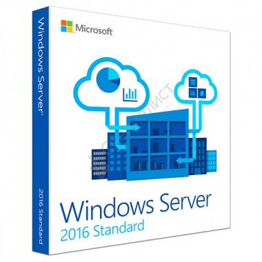 Microsoft Windows Server Standard 2016 64-Bit Russian Only DVD 10 Client [P73-07081]