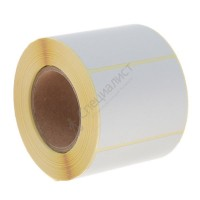 Термоэтикетка шириной 58 мм, длиной 40 мм, 700 шт. в рол. (58х40 ЕСО)
