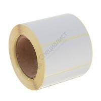 Термоэтикетка шириной 58 мм, длиной 30 мм, 700 шт. в рол. (58х30 ЕСО)