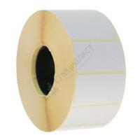 Термоэтикетка шириной 30 мм, длиной 20 мм, 2000 шт. в рол. (30х20 ЕСО)