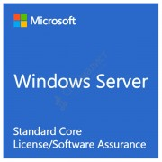 Microsoft Windows Server Standard Core Single License/Software Assurance Pack OLP 2 License No Level Core License [9EM-00120]