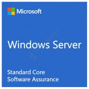 Microsoft Windows Server Standard Core Single Software Assurance OLP 2 License No Level Core License [9EM-00122]