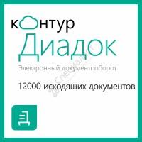 Контур.Диадок 12000 исходящих документов
