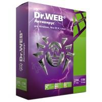 Dr.Web Антивирус (лицензия на 1 год на 2 ПК, коробочная версия) [BHW-A-12M-2-A3]