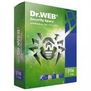 Dr.Web Security Space Комплексная защита (лицензия на 1 год на 3 ПК, коробочная версия) [BHW-B-12M-3-A3]