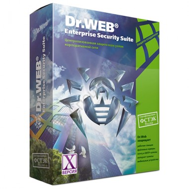 Dr.Web Server Security Suite Антивирус (лицензия на 1 год от 1 до 9 серверов) [LBS-AC-12M-*-A3]